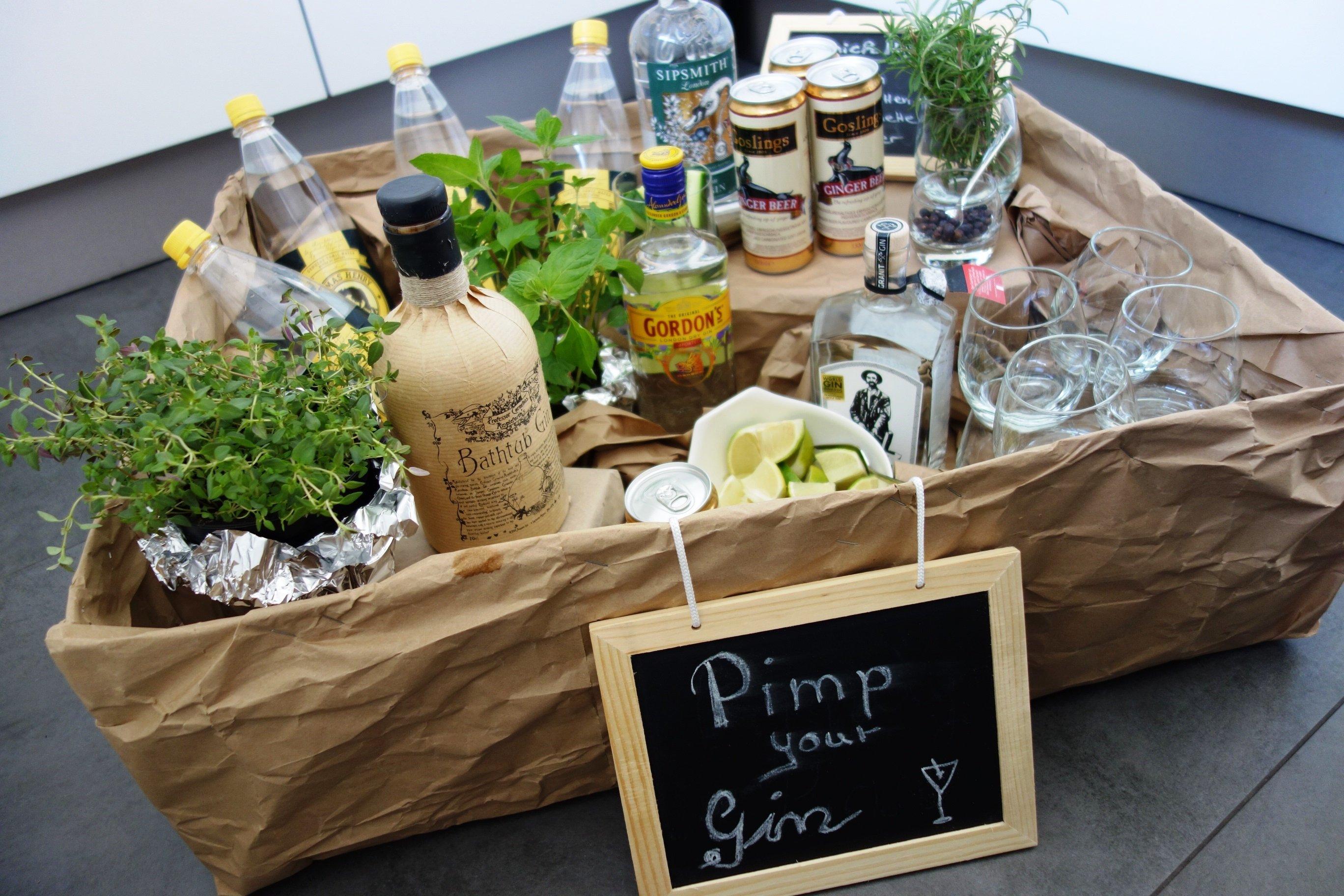 DSC00821 - Pimp your Gin! Eine Gin-Bar für die Feier