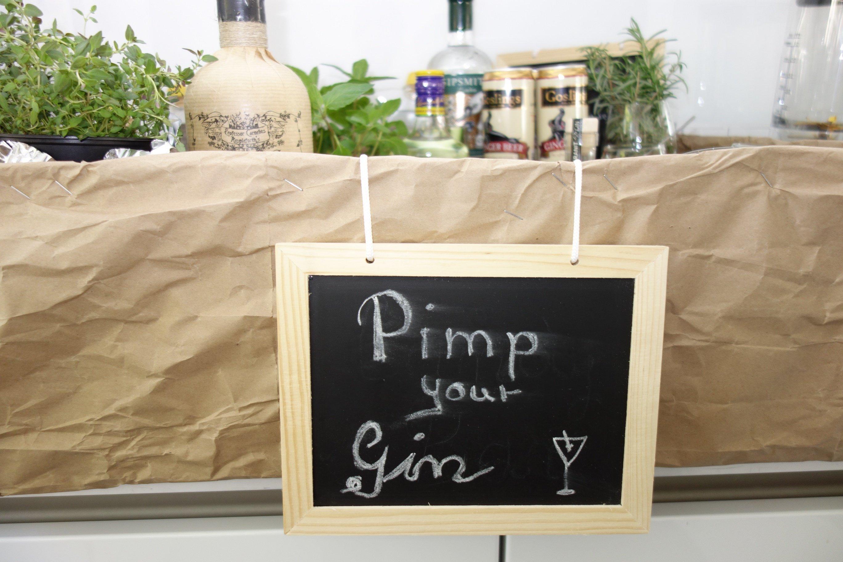 DSC00840 - Pimp your Gin! Eine Gin-Bar für die Feier