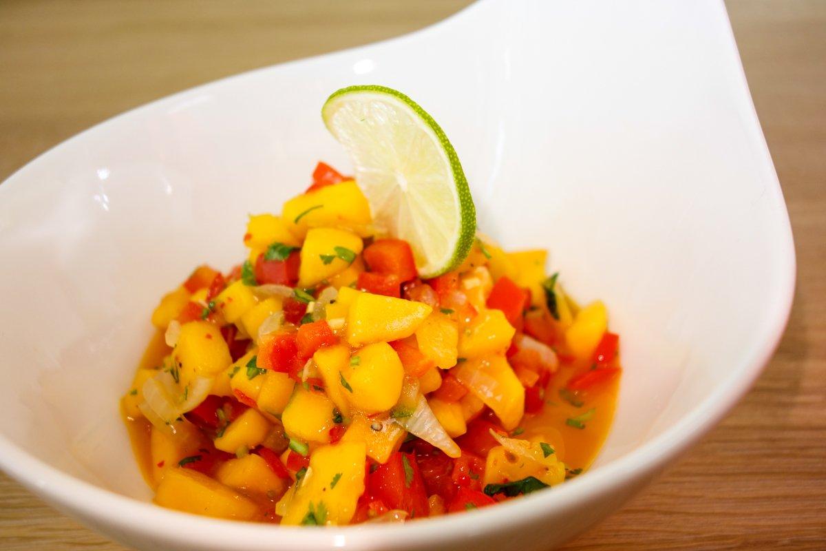 Mango Salsa Paprika - Fruchtige Mango-Paprika Salsa