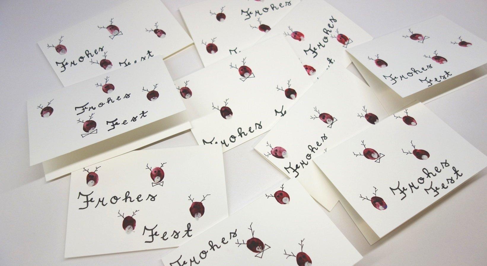 DSC01561 - Weihnachtskarten mit Fingerfarbe basteln