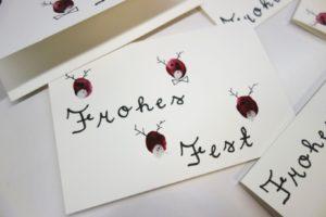 DSC01562 300x200 - Weihnachtskarte Fingerfarbe