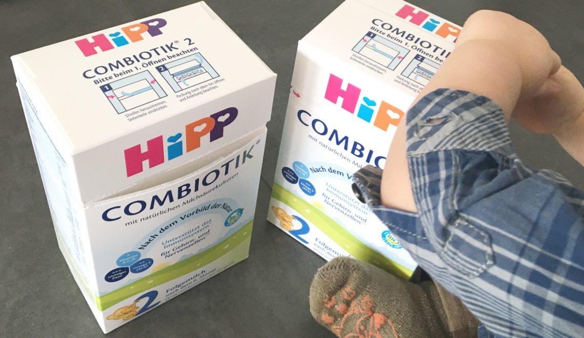 Die Alternative zum Stillen: HiPP 2 COMBIOTIK Folgemilch