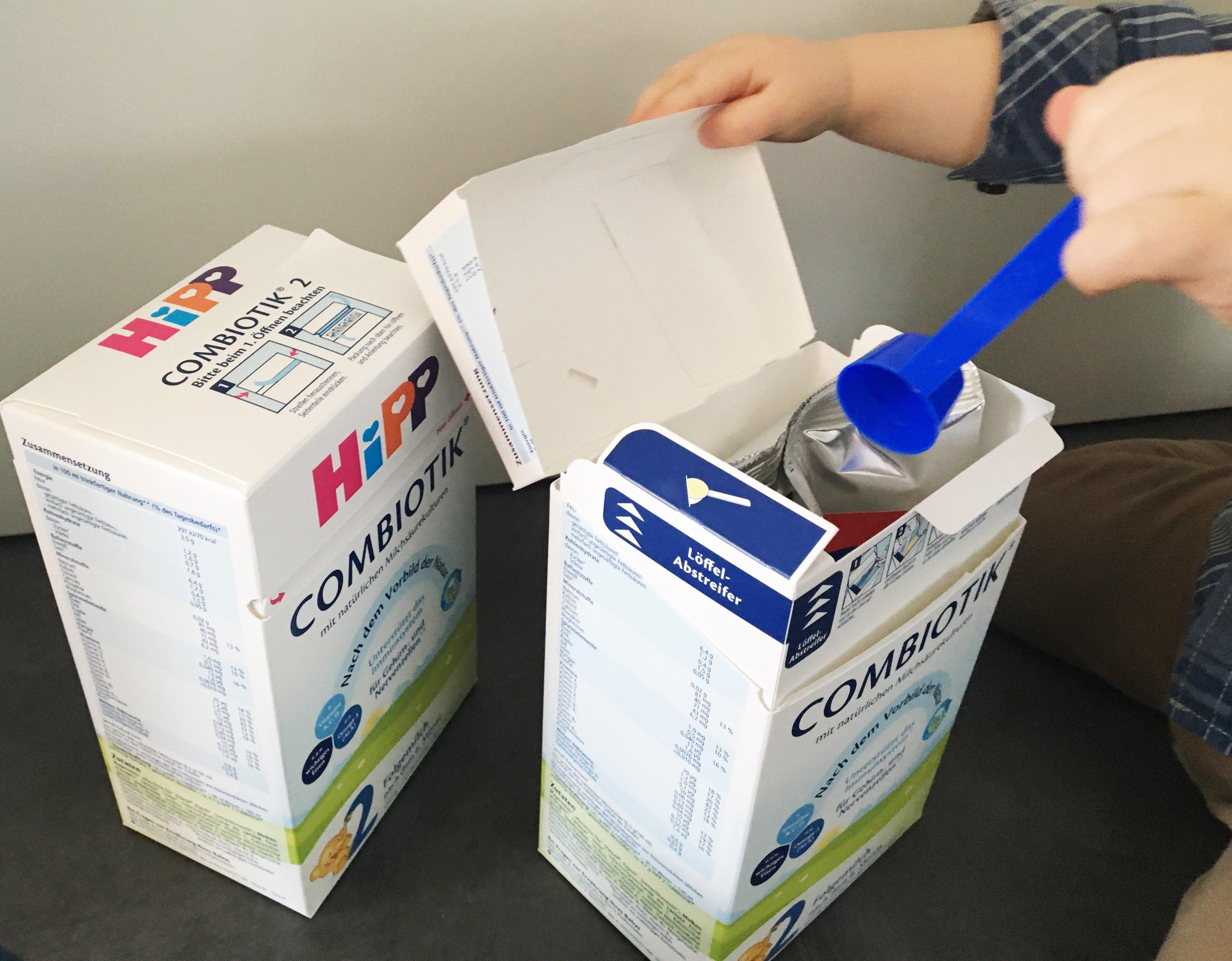 Foto 20.01.18 14 24 38 - Die Alternative zum Stillen: HiPP 2 COMBIOTIK Folgemilch