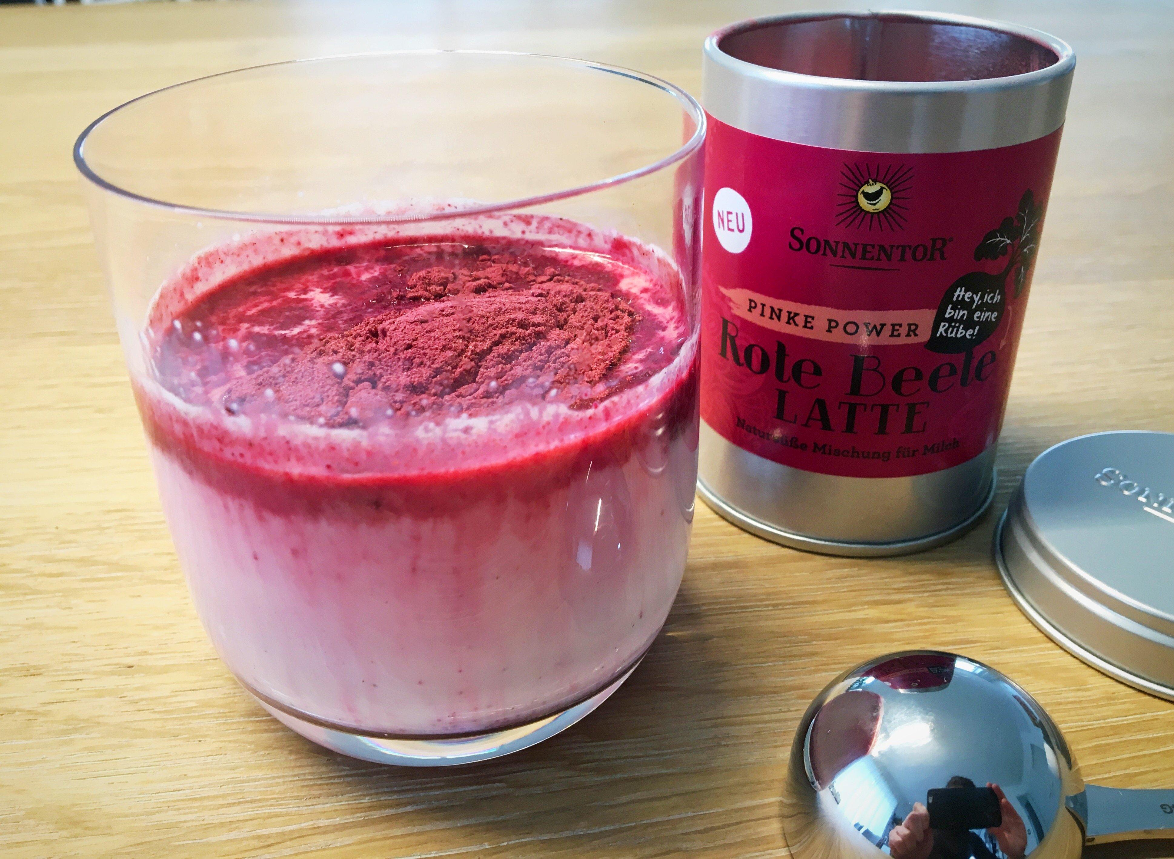 Foto 03.02.18 11 16 55 - Rote Beete Latte und Kardamom Latte von Sonnentor