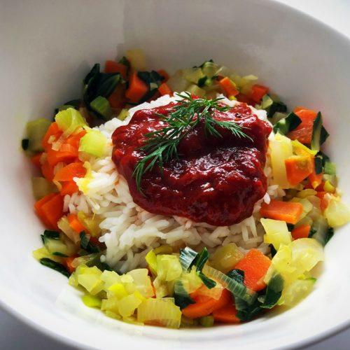 Foto 19.03.18 11 10 10 500x500 - Rii Jii Bio Basmati Reis mit Gemüse