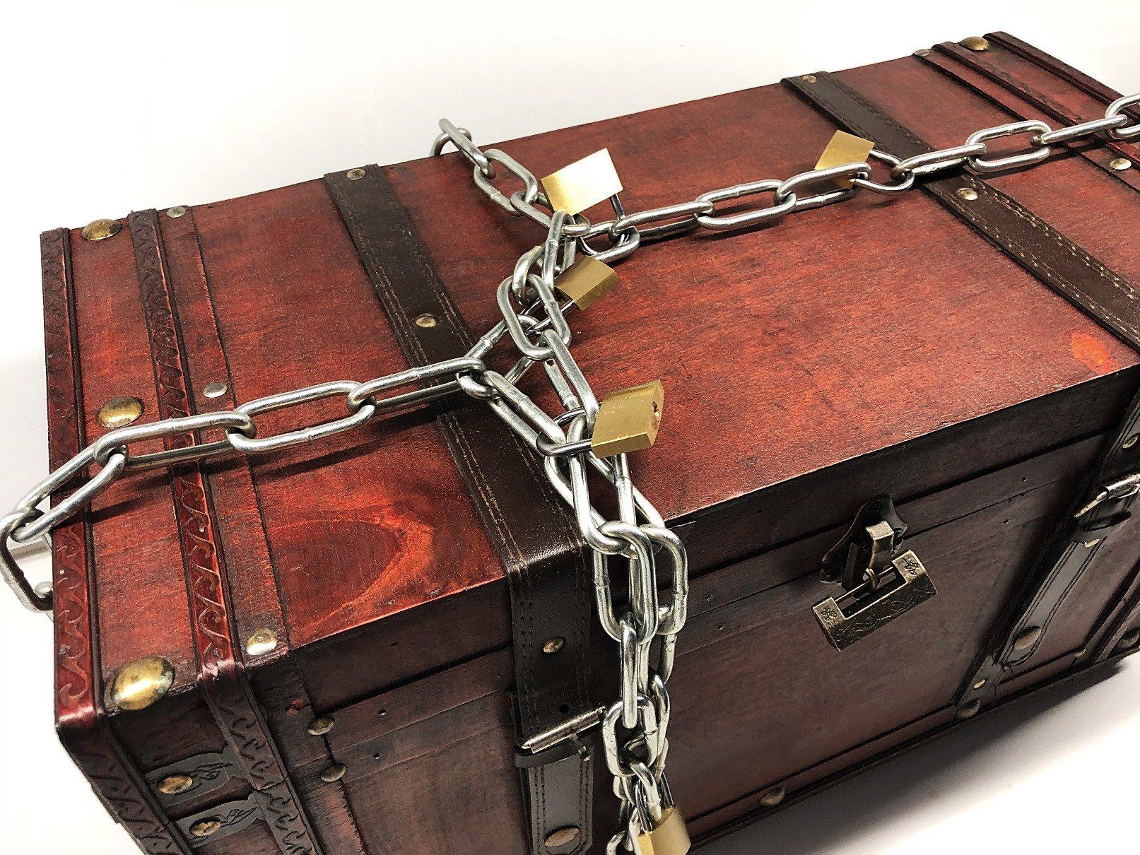 Foto 03.05.18 19 50 27 - Geldgeschenk in Truhe verpacken
