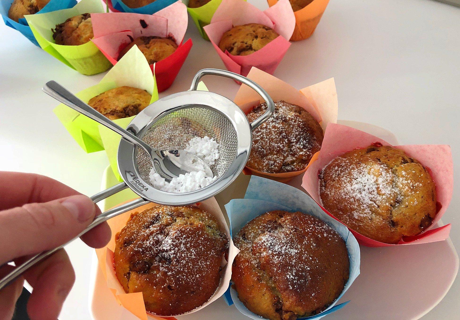 Foto 16.05.18 12 35 47 - Schnelle Bananen-Schoko-Muffins