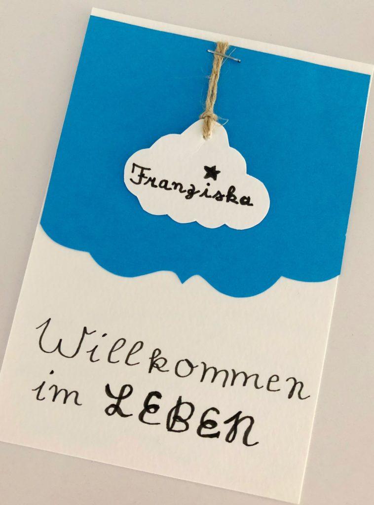 """Foto 28.05.18 14 23 03 758x1024 - Karte Geburt """"Willkommen im Leben"""""""