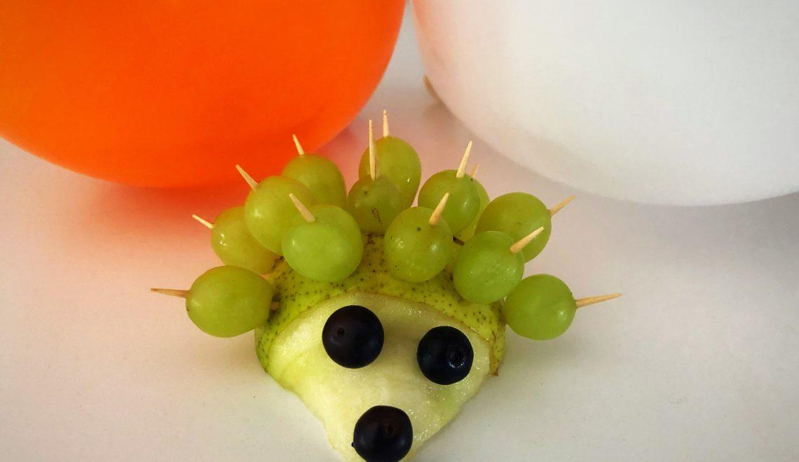 Obsttiere für Kinder. Auch eine Alternative zum Geburtstagskuchen für Kinder.