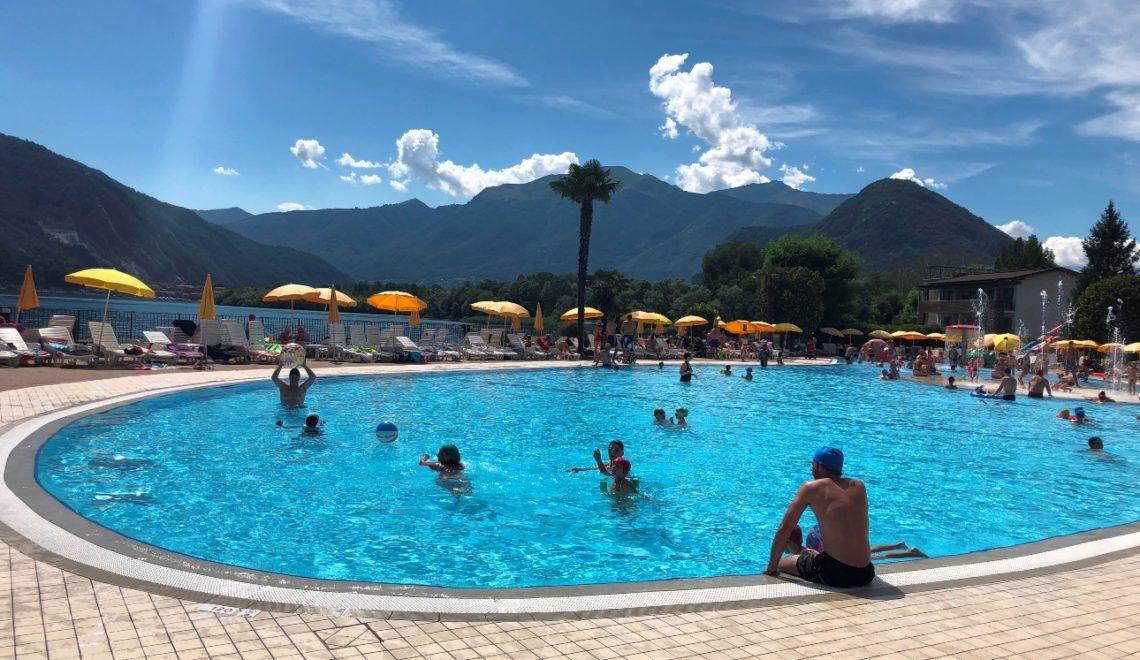 Camping Isolino am Lago Maggiore – Ein Campingplatz für Familien