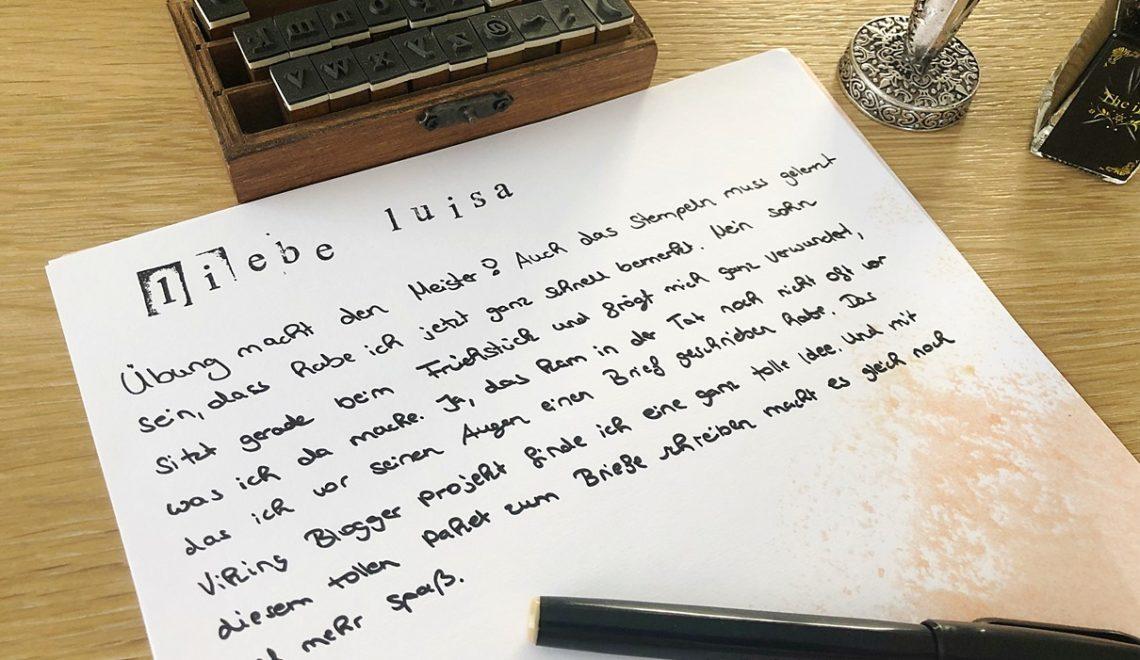 Welttag des Briefes und das Viking Blogger Box Projekt