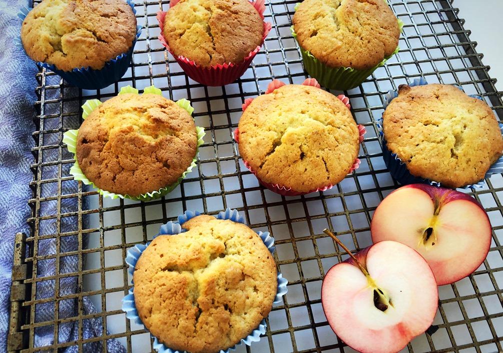 Foto 12.10.18 11 50 49 - Apfel-Marzipan-Muffins
