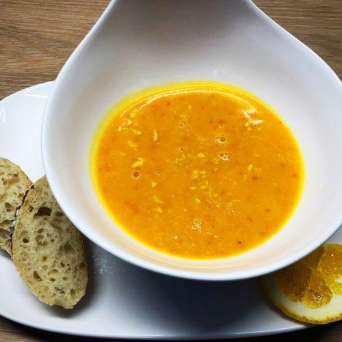 Foto 12.10.18 18 15 50 500x500 - Kürbis-Orangen-Suppe mit Ernüssen
