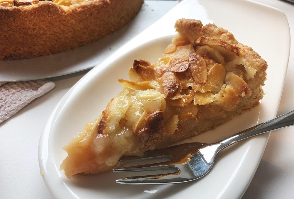 Foto 20.10.18 12 39 32 - Apfelkuchen mit Mandelguss