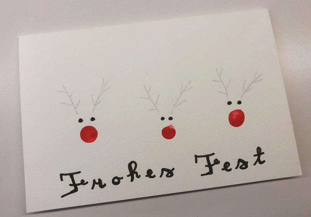 Foto 19.12.18 10 29 03 1024x715 - Last-Minute Weihnachtskarte basteln