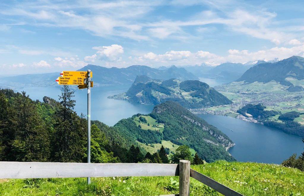 Pilatus Luzern und eine Fahrt mit der steilsten Zahnradbahn der Welt