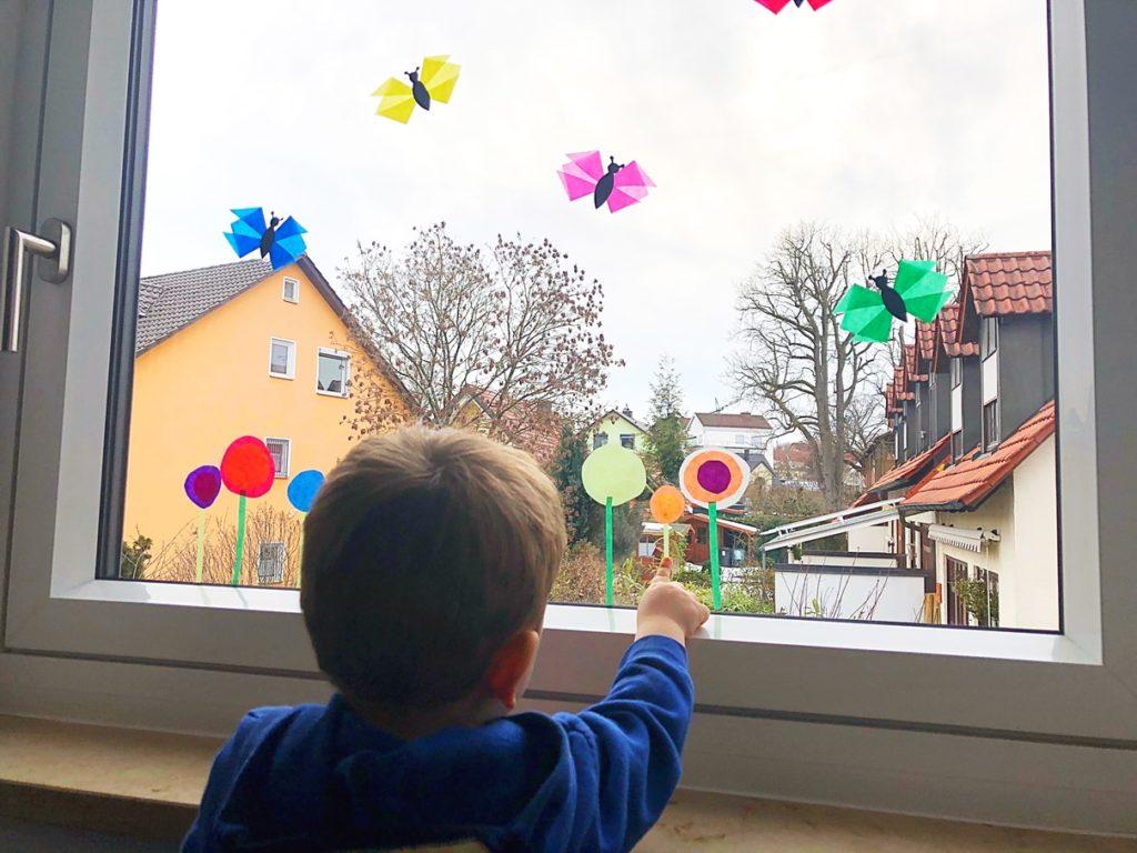Foto 09.02.19 16 45 41 1024x768 - Fensterdeko Frühling für das Kinderzimmer
