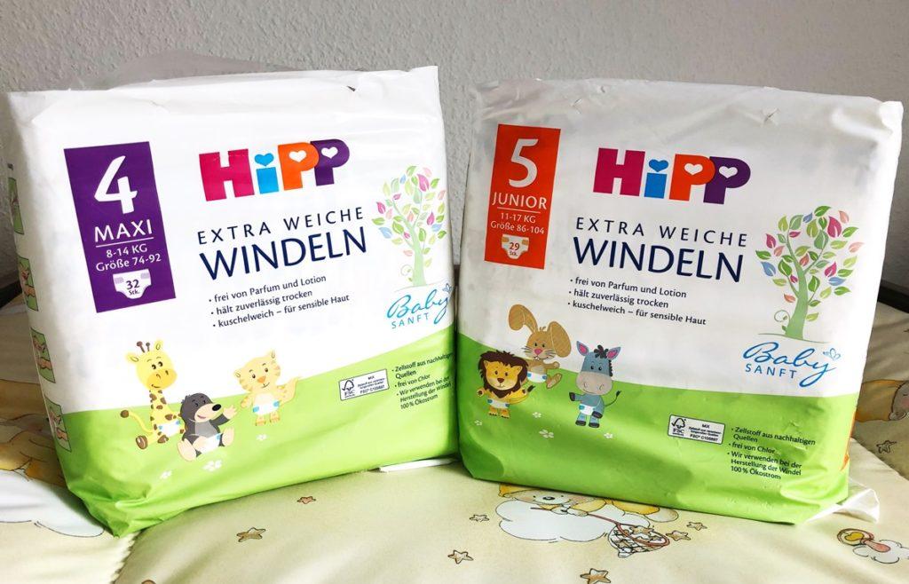 Foto 10.03.19 13 50 56 1024x658 - Jetzt gibt es auch Windeln von HiPP - Vorstellung der Babysanft Windeln