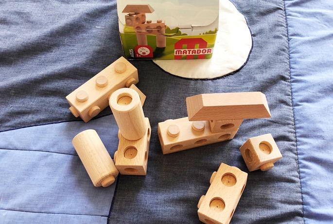 """Foto 24.08.19 12 14 44 - Holz-Konstruktionsbaukästen für Kinder ab 1 Jahr - """"Build your world"""" mit Matador"""