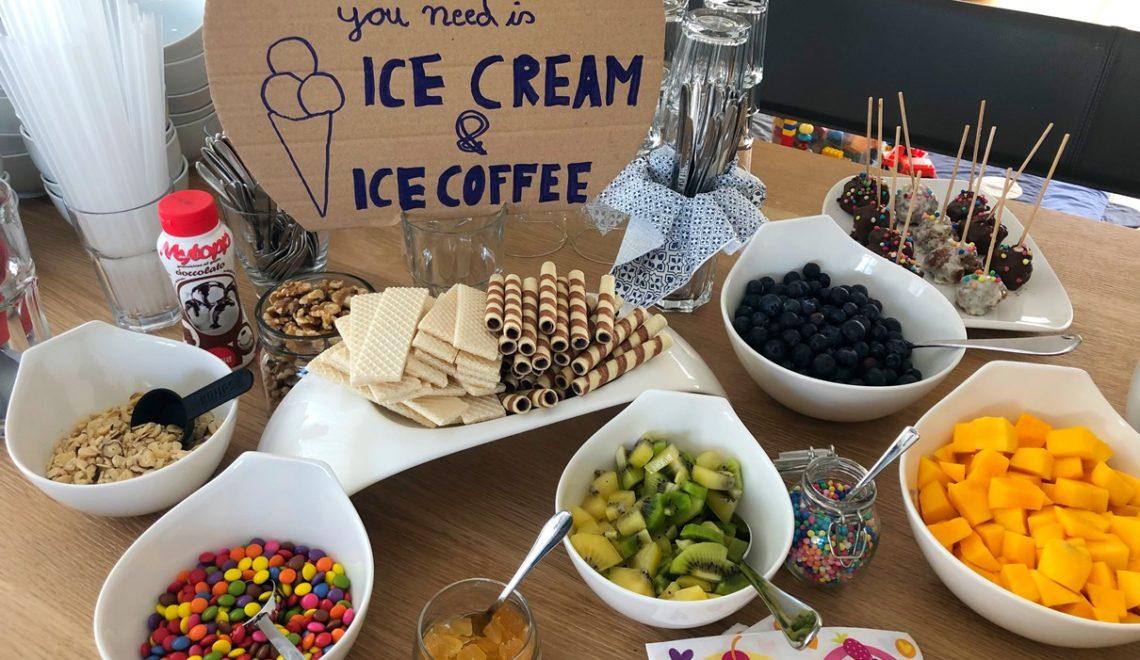 DIY Eisbar für den Geburstag im Sommer