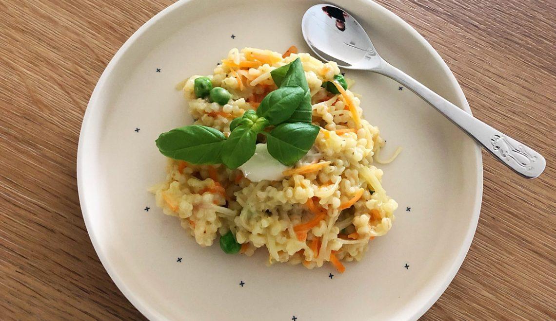 Graupenrisotto mit Parmesan