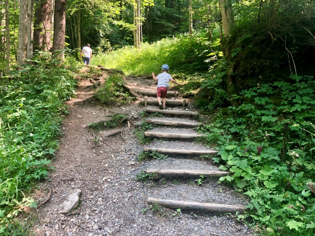 Foto 26.07.19 14 45 27 1024x768 - Ausflugstipp Sonthofen: Hinanger Wasserfall