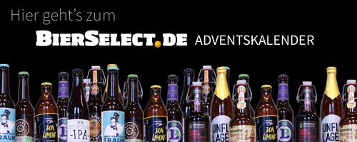 BierSelect - Ein Adventskalender für den Mann. Es wird ein BierSelect Adventskalender.