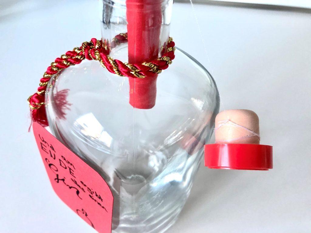Geldgeschenk Gin Flasche 3 1024x768 - Geldgeschenk in Gin-Flasche verpacken