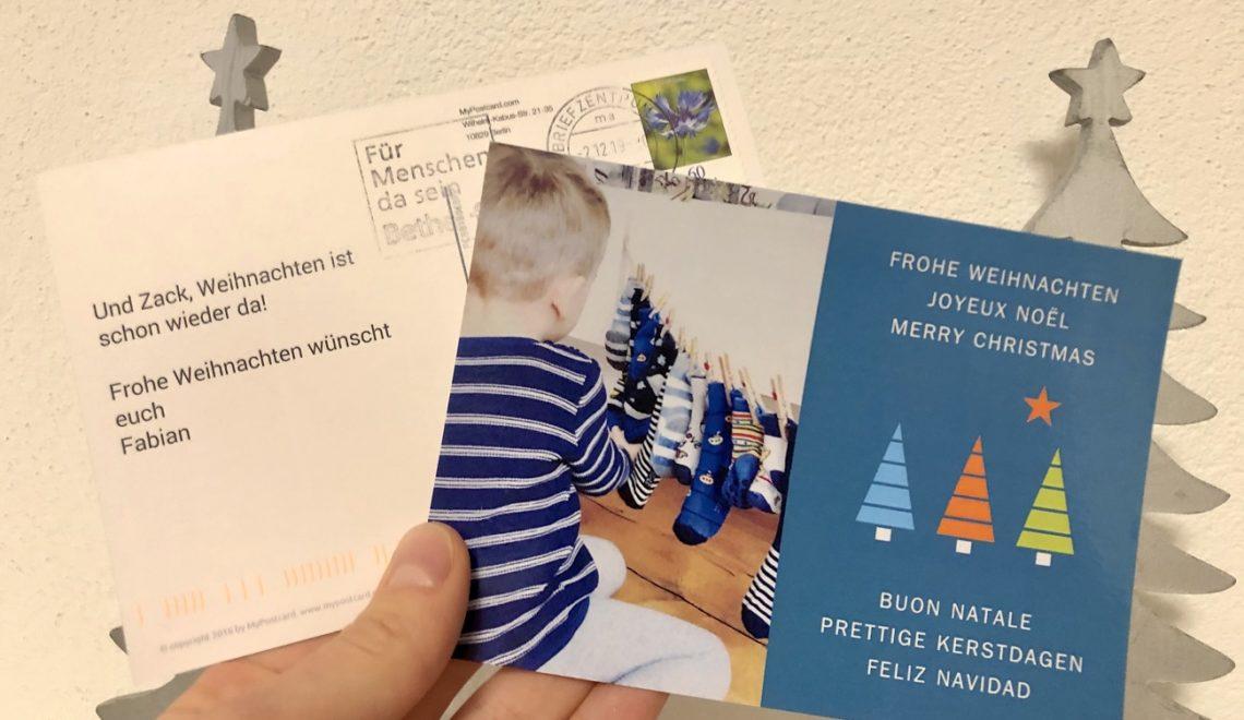 MyPostcard 3 1140x660 - Nehmt euch Zeit für Weihnachtspostkarten und erfreut jeden Empfänger