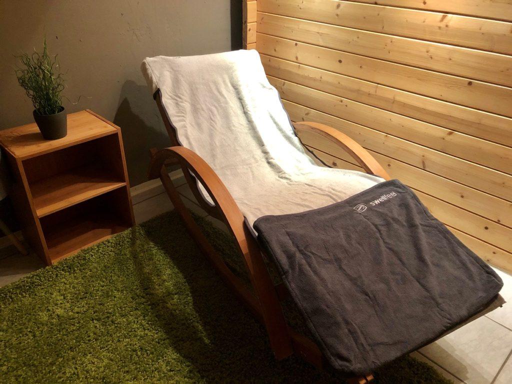 swellfeel 2 1024x768 - Entspannen in der Sauna - mit dem swellfeel Spa & Saunatuch gelingt es sicher