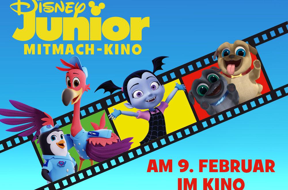 Disney Spaß ab 3 Jahren mit dem Disney Junior – Mitmach-Kino