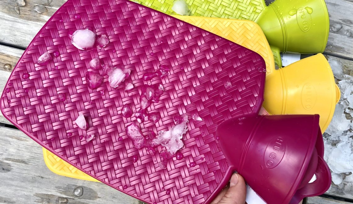 Kühlkissen selber machen! Die Wärmflasche wird zur Kühlflasche! + Gewinnspiel