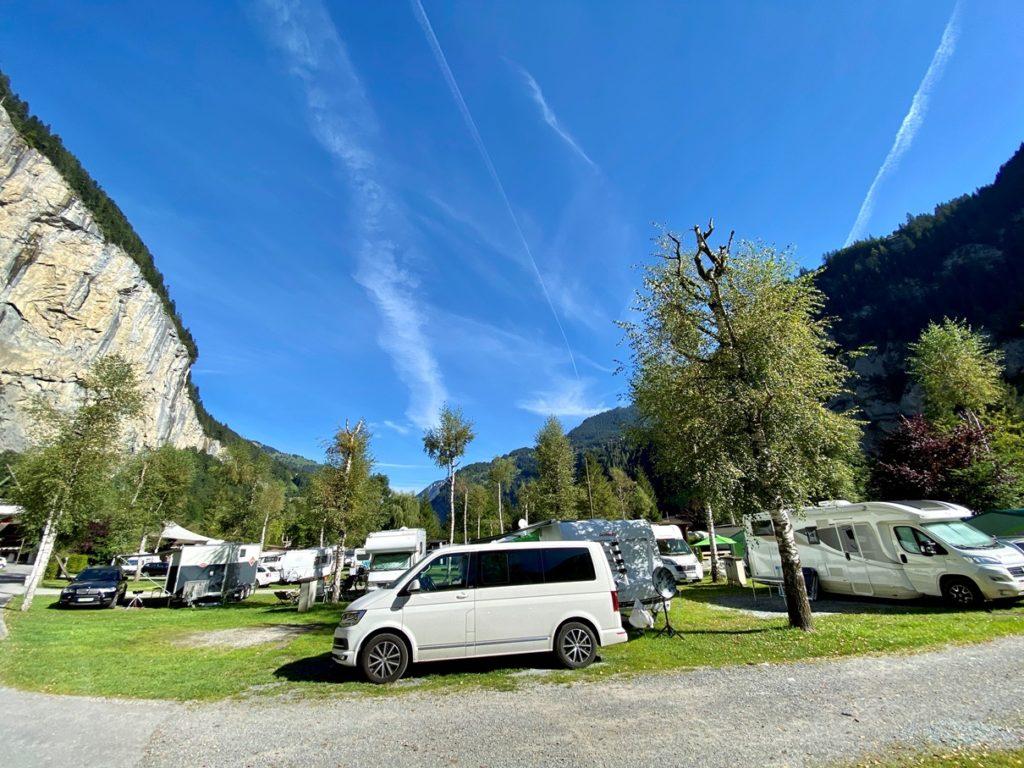 Camping Jungfrau Lauterbrunnen 4 1024x768 - Camping Jungfrau in Lauterbrunnen, Berner Oberland