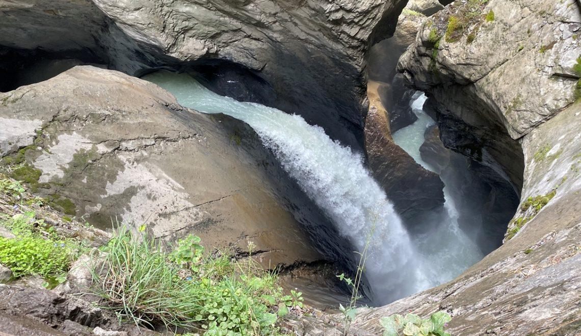 Trümmelbachfälle in Lauterbrunnen