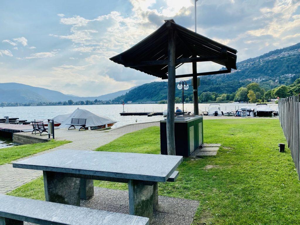 TCS Camping Lugano Muzzano 1 1024x768 - Camping am Luganersee: Erfahrung TCS Camping Lugano-Muzzano