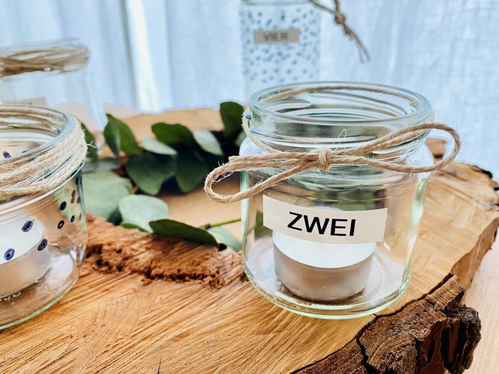 Adventskranz 4 1024x768 - DIY Adventskranz - Upcycling aus Altglas