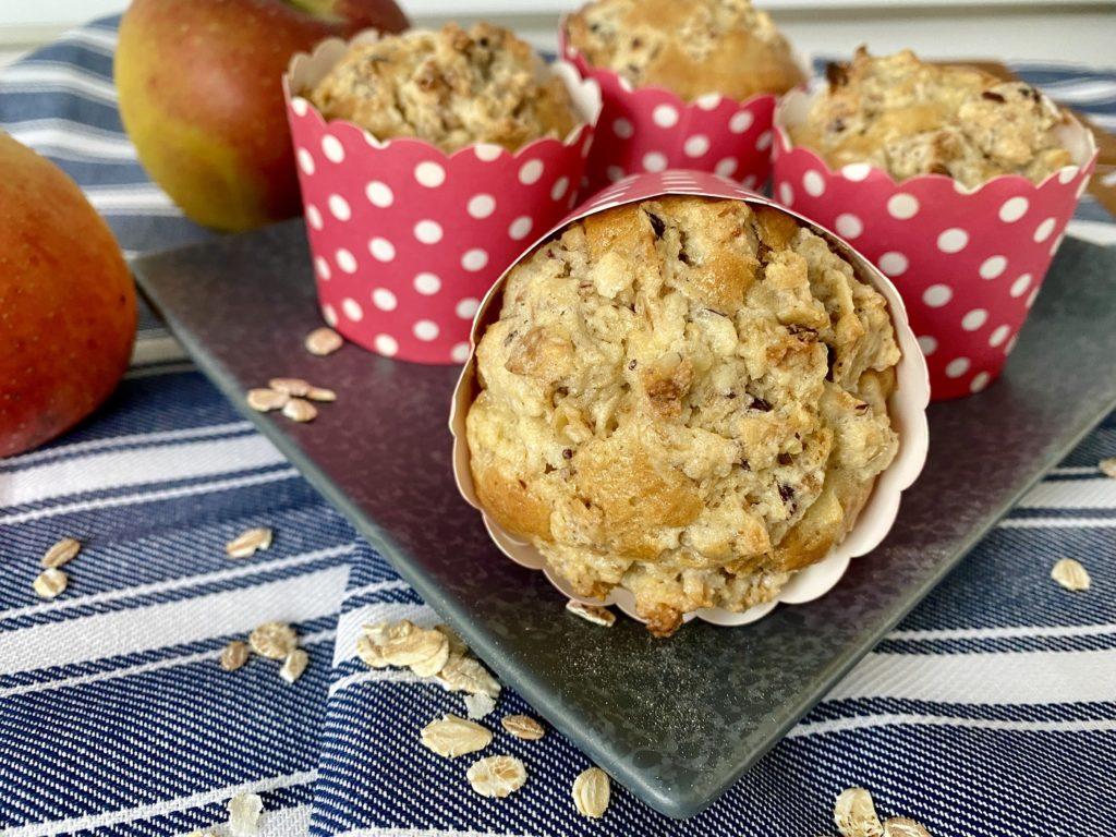 Apfelmuffins mit Streuseln 1 1024x768 - Saftige Apfelmuffins mit Knusperstreuseln