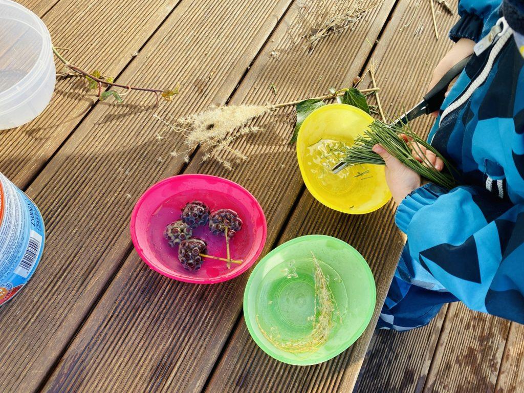 Eisbilder Winter basteln 5 1024x768 - Eisbilder - Schönes aus Wasser und Frost zaubern