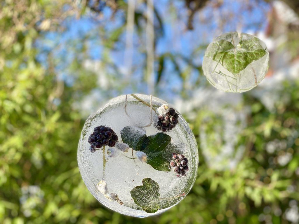 Eisbilder Winter basteln 8 1024x768 - Eisbilder - Schönes aus Wasser und Frost zaubern