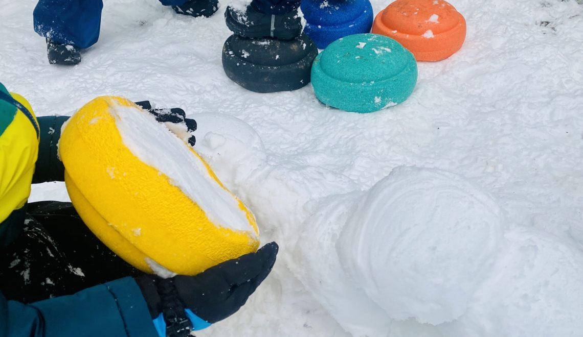Stapelsteine Spielideen Winter