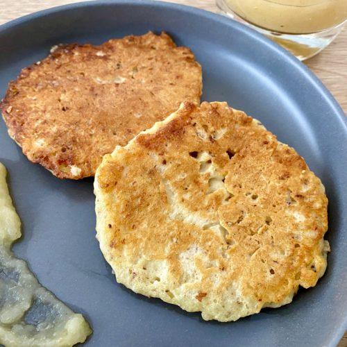 Zuckerfreie Pancakes 1 500x500 - Zuckerfreie Pancakes für Kinder
