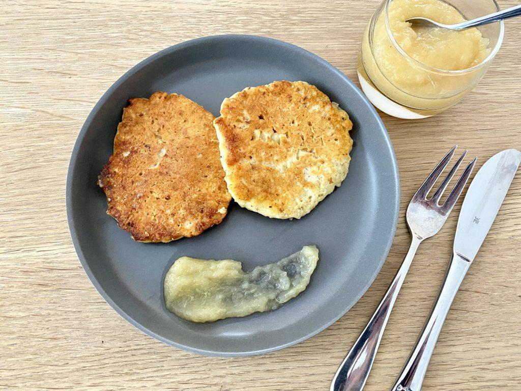 Zuckerfreie Pancakes 2 1024x768 - Zuckerfreie Pancakes für Kinder