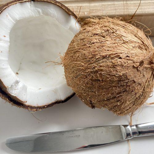 Frische gebrannte Kokosnusswuerfel 2 500x500 - Gebrannte frische Kokosnuss-Würfel