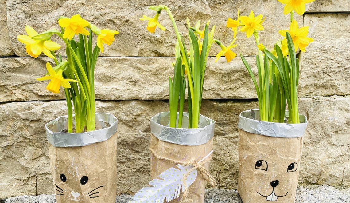 Milchtüten Upcycling – DIY Pflanztöpfchen