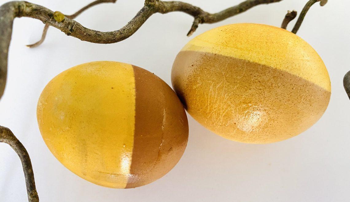 Ostereier färben – tolle Techniken zum Dekorieren