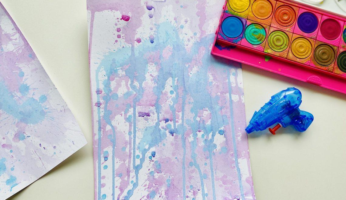 Bilder malen mit Kindern