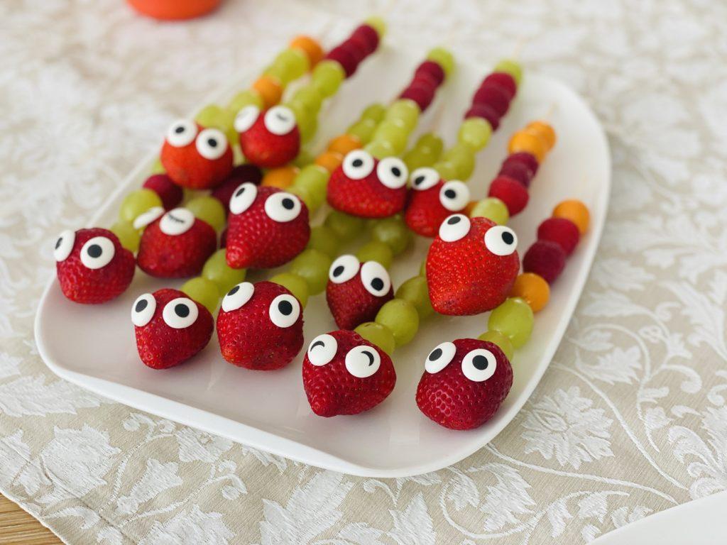Obstspiesse Kindergeburtstag 4 1024x768 - Obstspieße für Kinder
