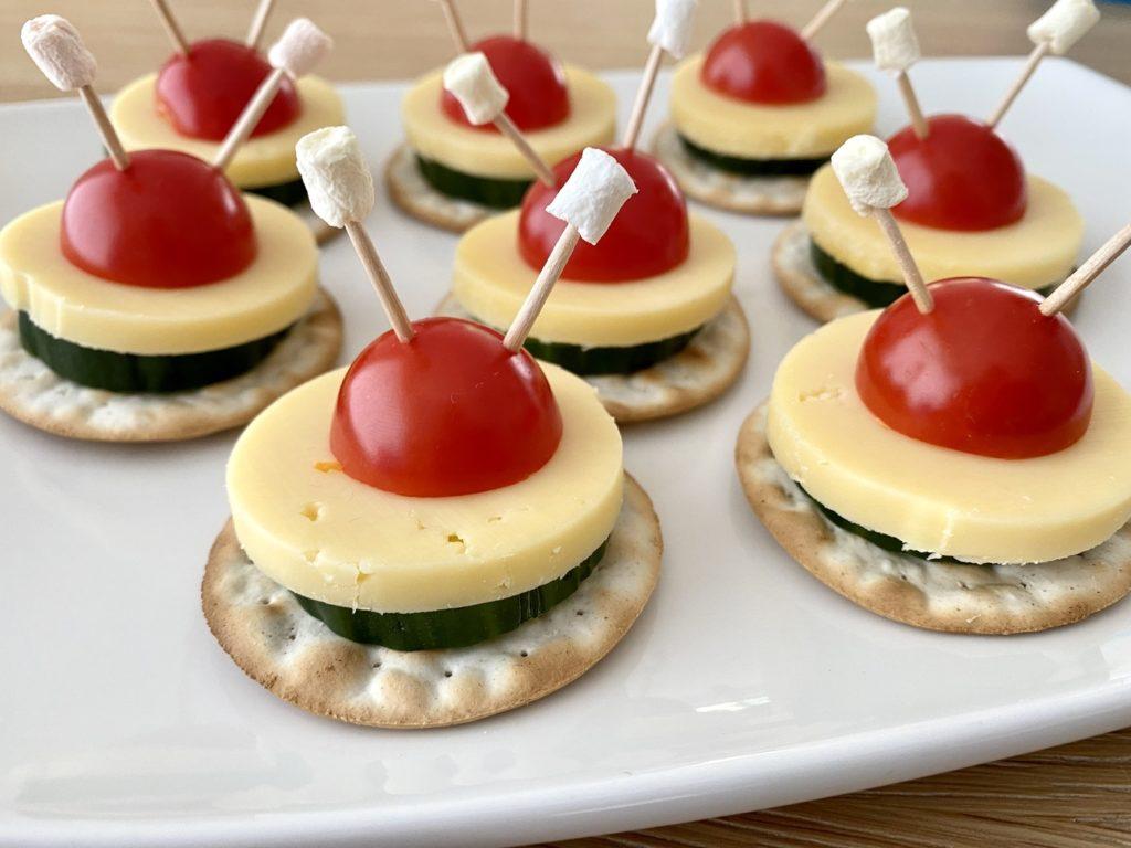 Astronauten Party 16 1024x768 - Perfektes Essen für den Astronauten Geburtstag