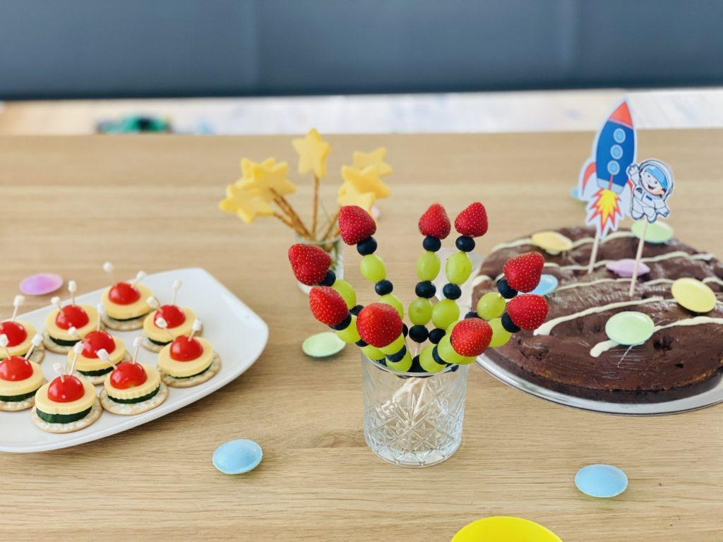 Astronauten Party 21 1024x768 - Perfektes Essen für den Astronauten Geburtstag