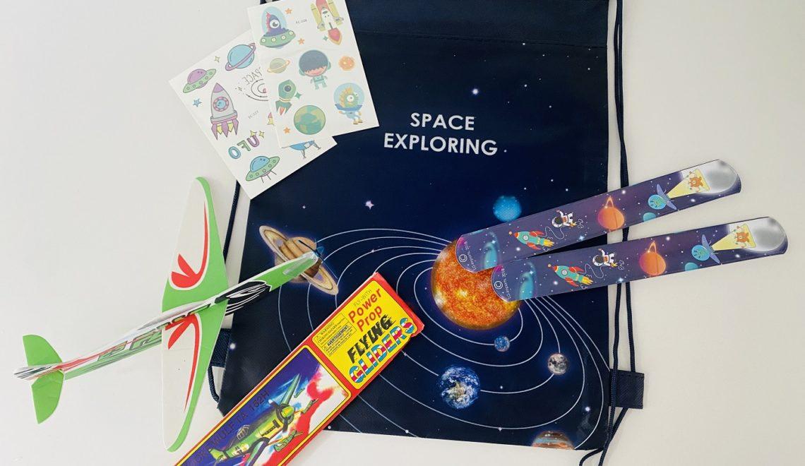 Gastgeschenke Astronauten Geburtstag